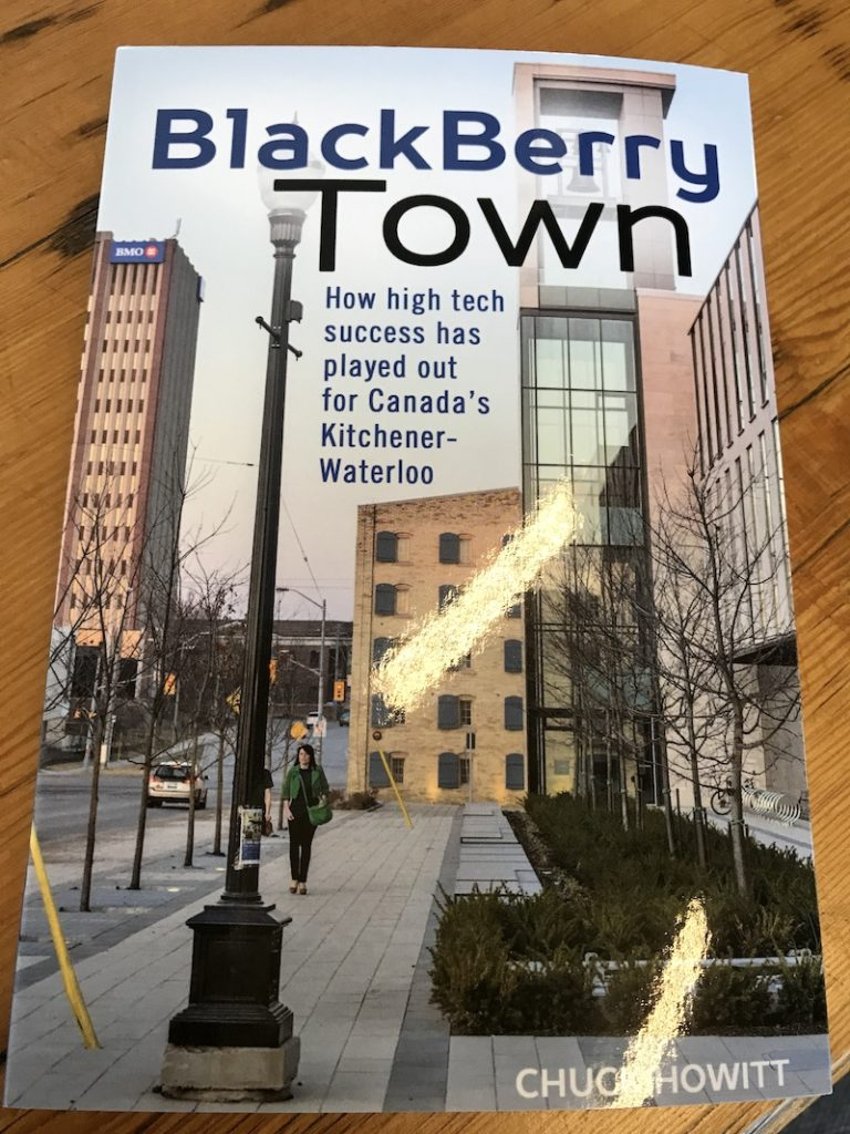 Blackberry Town by Chuck Howitt