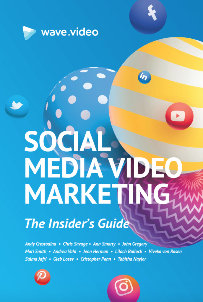 Books that changed our thinking, Opencity Inc, Insider's Guide to Social Media Video Marketing, wave.video
