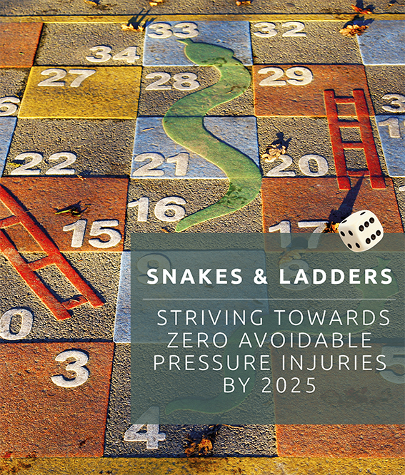 Curiato, pressure injury, pressure ulcers, Snakes & Ladders,