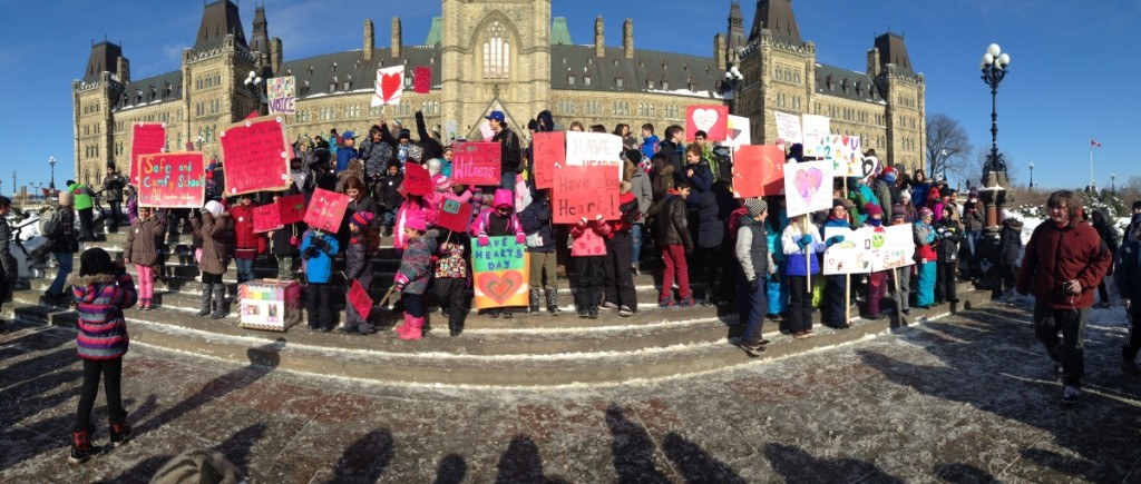 First Nations Child and Family Caring Society, Spirit Bear, Have a Heart Day, Ottawa
