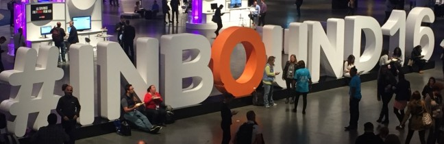 #INBOUND16, Boston, HubSpot, inbound methodology
