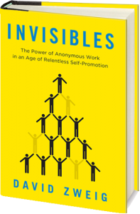 Invisibles book, David Zweig, Love Lose - February, Portfolio Penguin