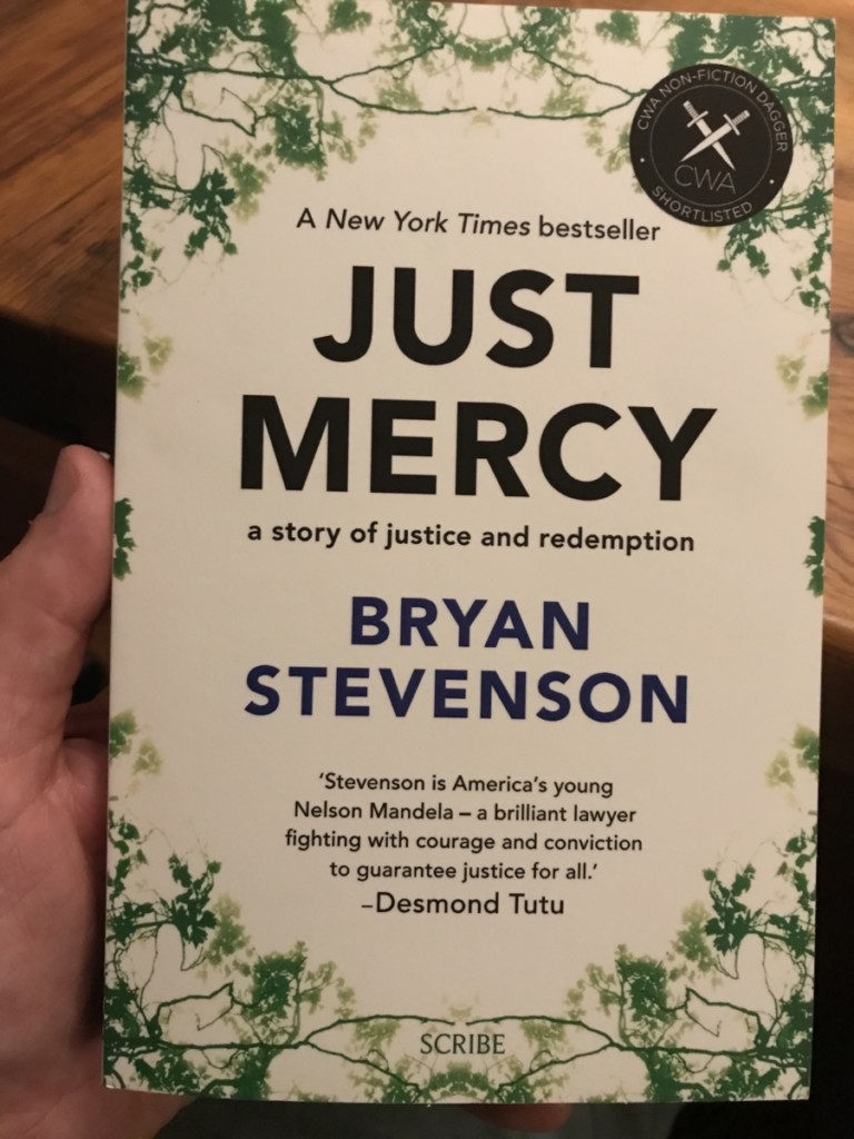 Just Mercy by Bryan Stevenson, Books that changed our thinking in 2018, Non-fiction recommended read