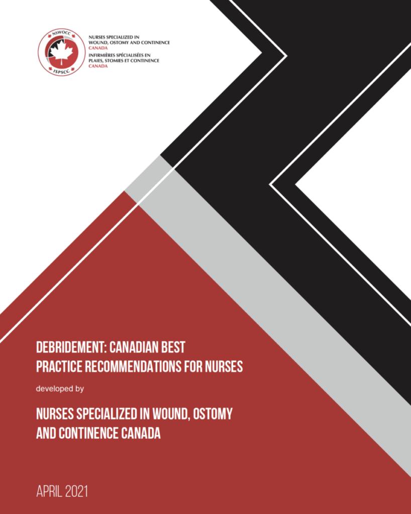 NSWOCC debridement recommendations canadian best practice recommendations for nurses cover.