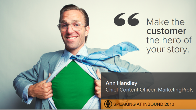 Opencity Inc., Ann Handley, Inbound 2013, HubSpot, Delighting the customer