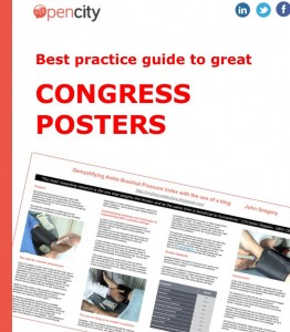 Opencity Inc., congress posters, healthcare, Med Tech, medtech, health care, WUWHS