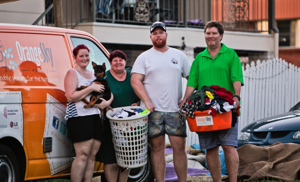 Orange Sky Laundry, Opencity Inc., homeless, Australia, Charity Spotlight