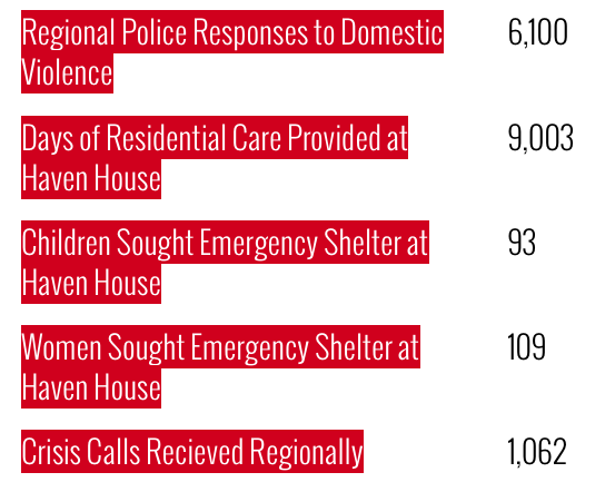 Opencity Inc., Charity Spotlight, WCSWR, Rebuild Haven House, Domestic Violence Stats