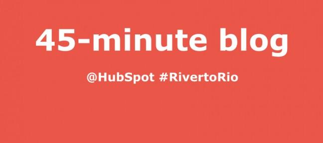 Opencity Inc., HubSpot, 45-minute blog, optimized blog post, inbound marketing