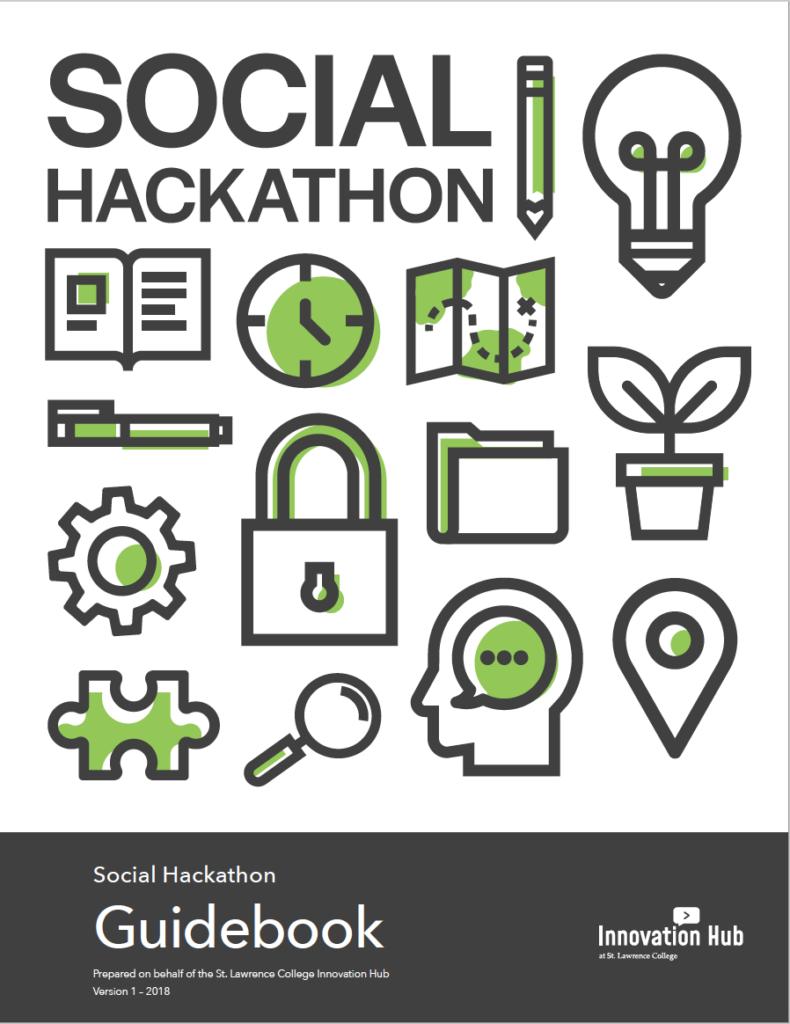 Social Hackathon Guidebook, St Lawrence College, International Experience hackathon roadshow,