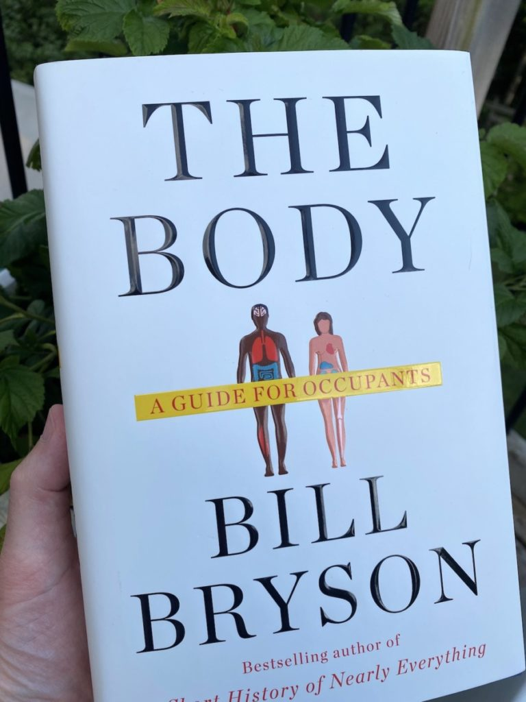 Picture of the book by Bill Bryson on The Body, part of an OpencityInc 9 books that made a positive difference in 2020
