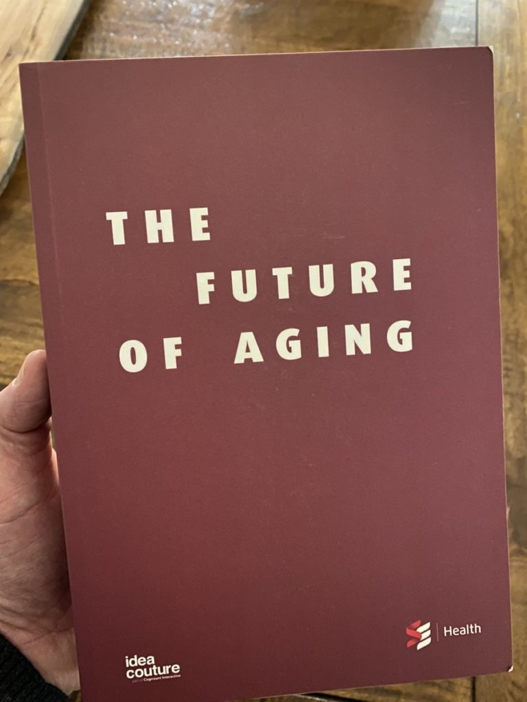 Picture of The Future of Aging book by SE Health & Idea Couture, part of the OpencityInc 9 books that made a positive difference in 2020