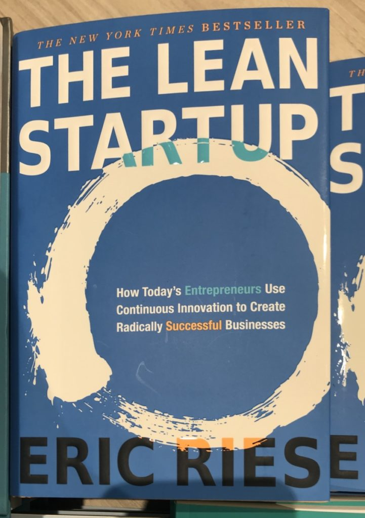 Picture of the book by Eric Ries on The Lean Startup, part of the OpencityInc 9 books that made a positive difference in 2020