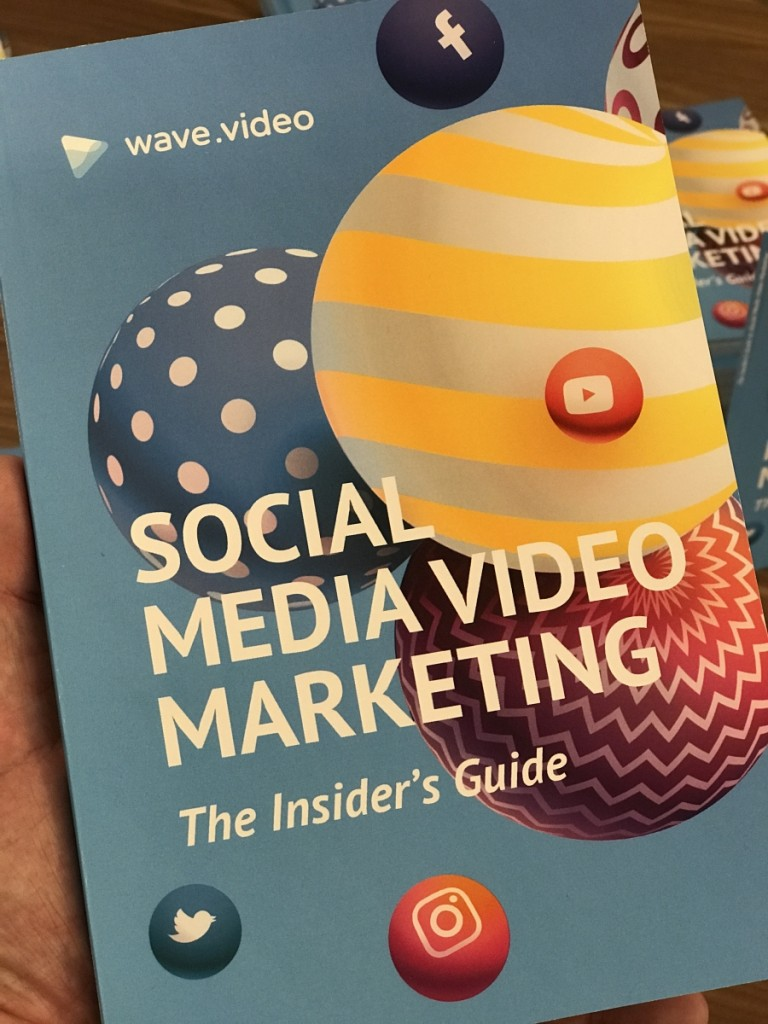 Wave.video, Insider's Guide to Social Media Video Marketing, Video means business, Opencity Inc, INBOUND