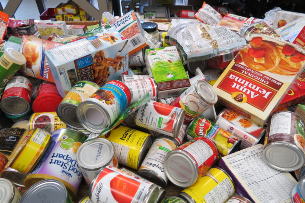 The Food Bank of Waterloo Region, Charity Spotlight feature. Food can donations, Food for thought, Opencity Inc.