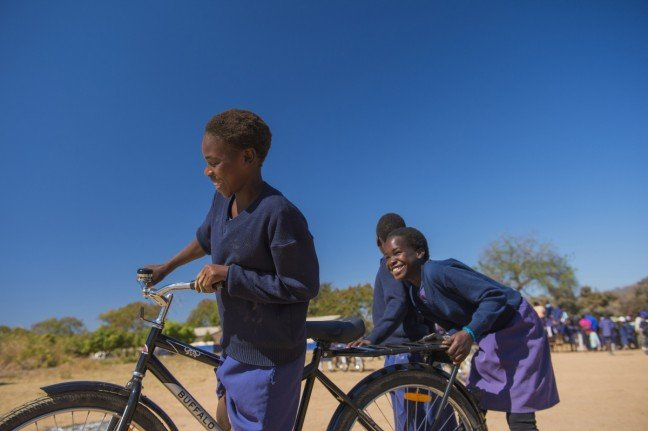 WBR, World Bicycle Relief, Education, Giving Tuesday, Opencity Inc.