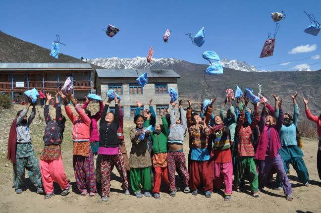 DfG kits in Nepal, Global Girls Festival, Opencity Inc., Charity Spotlight,