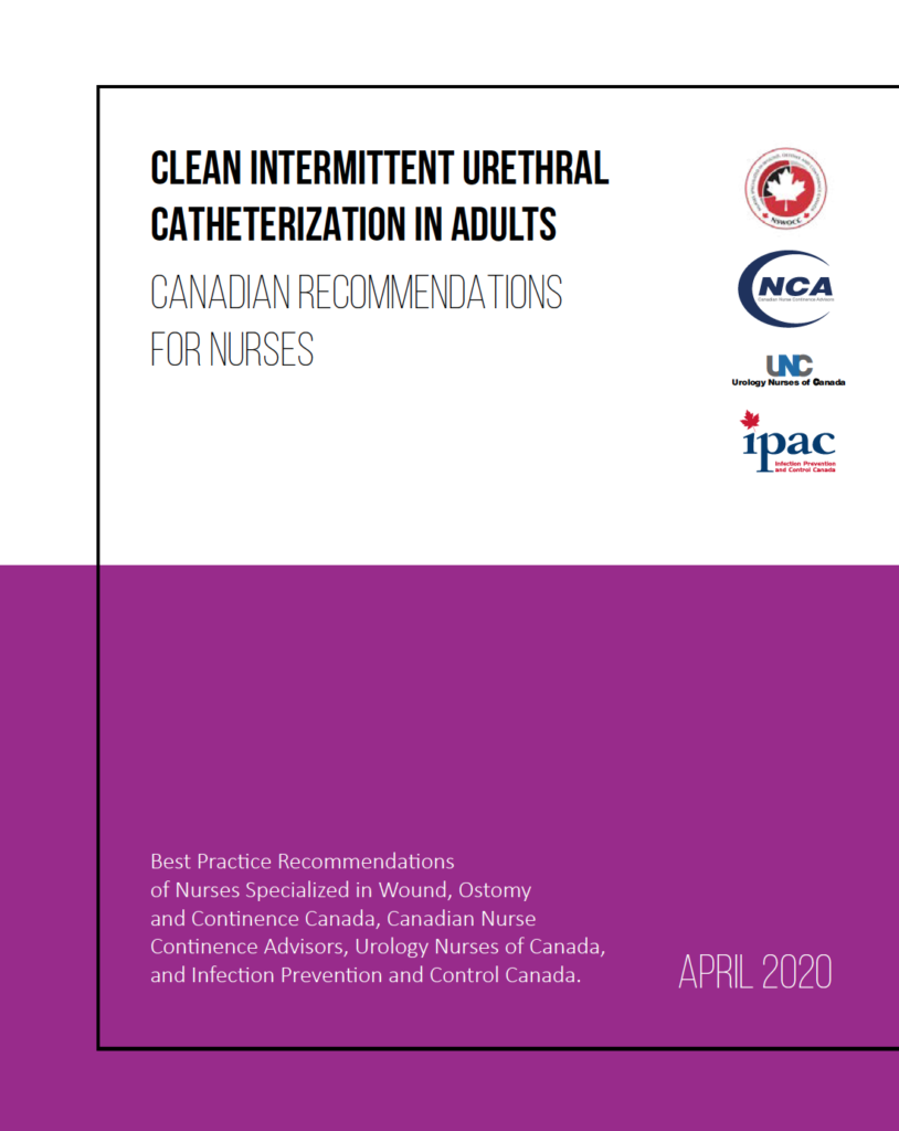 intermittent catheterization, best practice recommendations, case study, Canadian nurses, opencityinc