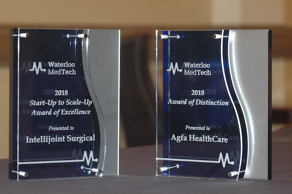 Inaugural winners of the 2018 Waterloo MedTech awards, Waterloo MedTech